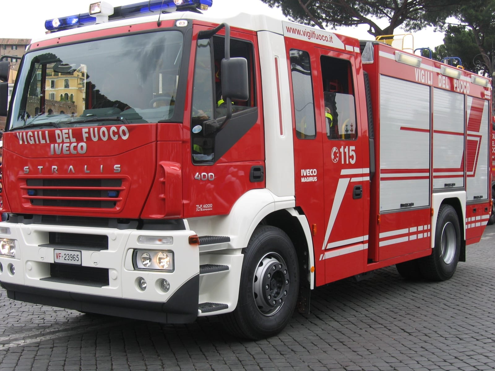 Photo of FIRENZE – Problema elettrico, incendio in centrale 118