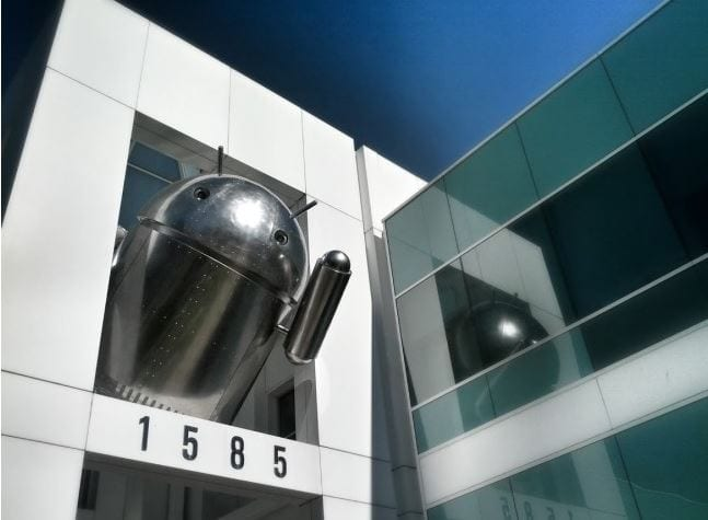 Photo of Un nuovo Android nel campus di Google
