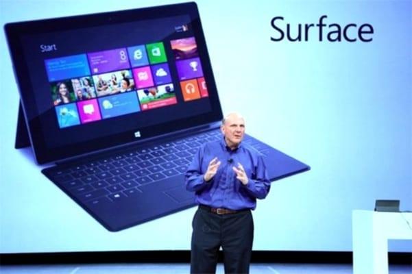 Photo of MICROSOFT – Steve Ballmer ammette che Surface è business nonostante le vendite