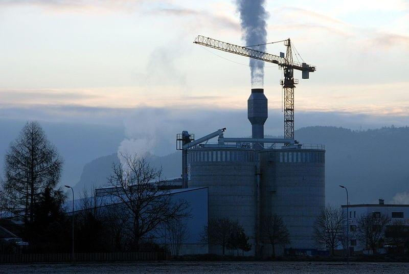 esempio di centrale a biomasse