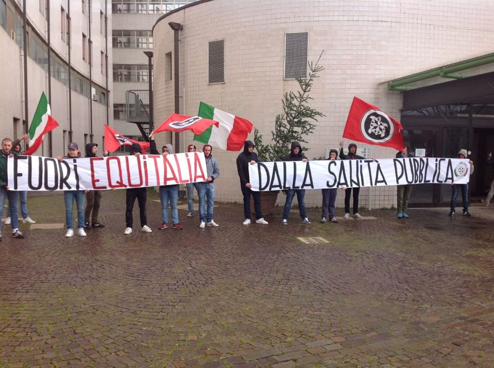 Photo of TOSCANA – Sit-in di Casa Pound Italia contro il protocollo di intesa tra Regione ed Equitalia
