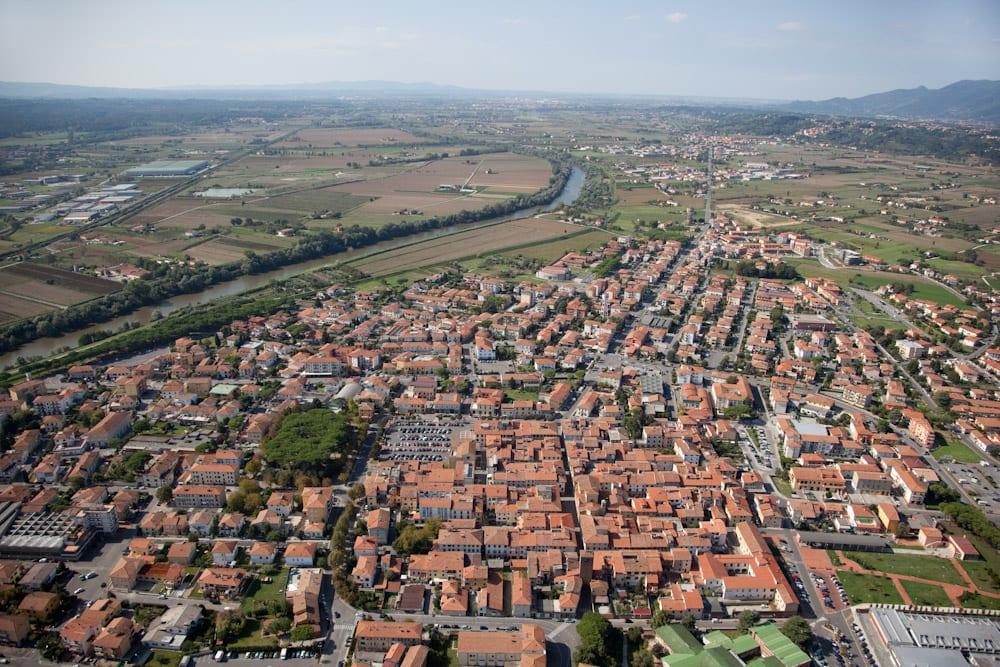 Panoramica Castelfranco di Sotto