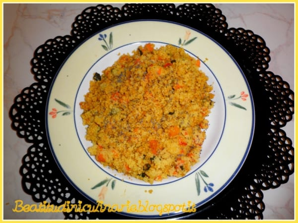 Photo of PRIMI – Cous cous alle verdure e semi di papavero