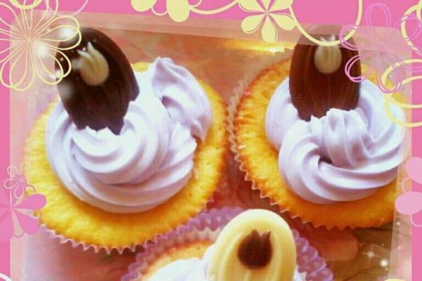 cupcake cioccolato bianco