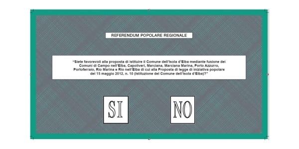 Photo of ISOLA D'ELBA – Referendum per il Comune Unico, il 21 e 22 si vota!