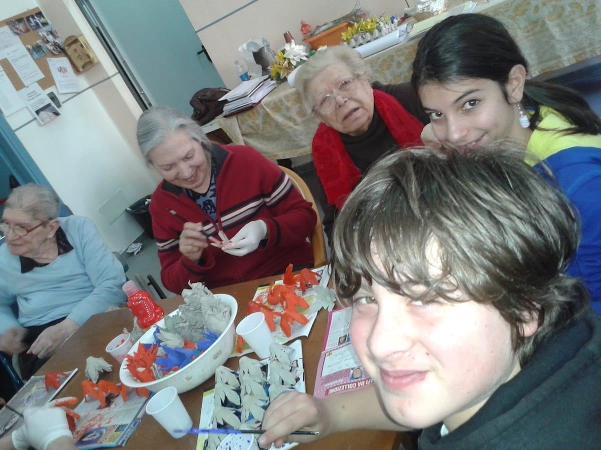 Photo of Grosseto – Anziani e ragazzi insieme per Cavallonatura