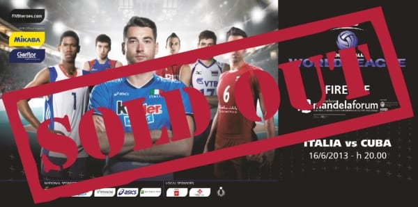 Photo of WORLD LEAGUE – Italia contro Cuba: è già SOLD OUT!