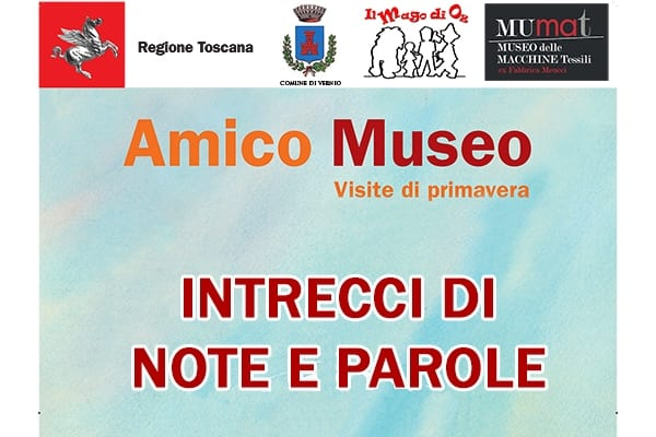 Photo of VERNIO (PO) – 'Intrecci di note e di parole' al Museo Mumat