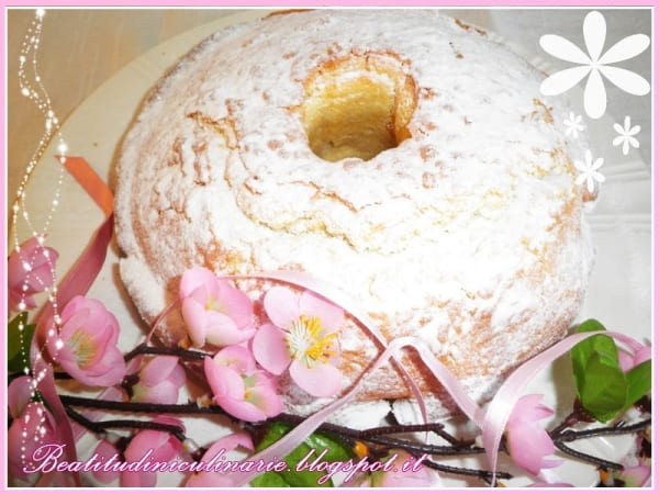 Photo of DOLCI – Ciambellone con panna