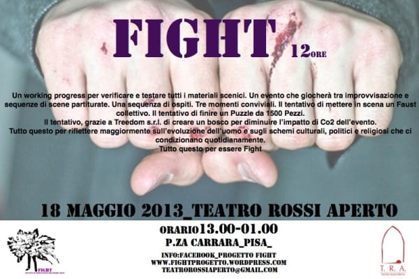 Photo of Fight 12 ore – Prologo al Faust. Il 18 Maggio al Teatro Rossi Aperto di Pisa