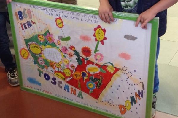 Photo of Alla scuola Don Milani di Montebonello il premio per la Festa della Toscana