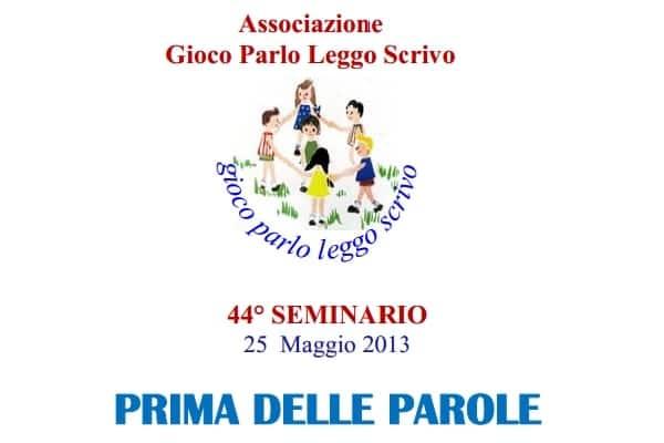 Photo of PRATO – Sabato 25 maggio si terrà il 44° seminario 'Prima delle Parole'