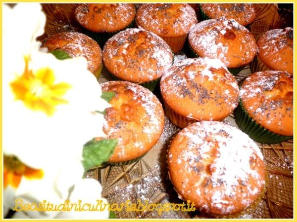 Photo of DOLCI – Muffins al limone e semi di papavero