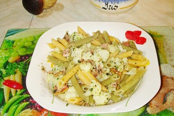 pasta cavolfiore pancetta
