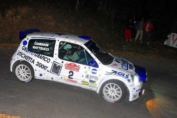 Photo of RALLY – Matteucci torna con la Clio S1600 dell'Officina Ulivieri alla seconda tappa IRCup a Bergamo