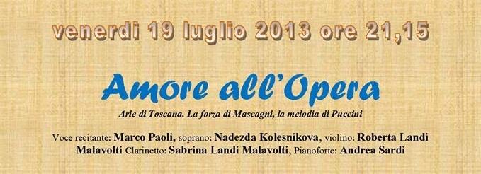 Photo of BORGO S.LORENZO (FI) – Marco Paoli e la Camerata de' Bardi in 'Amore all'Opera'