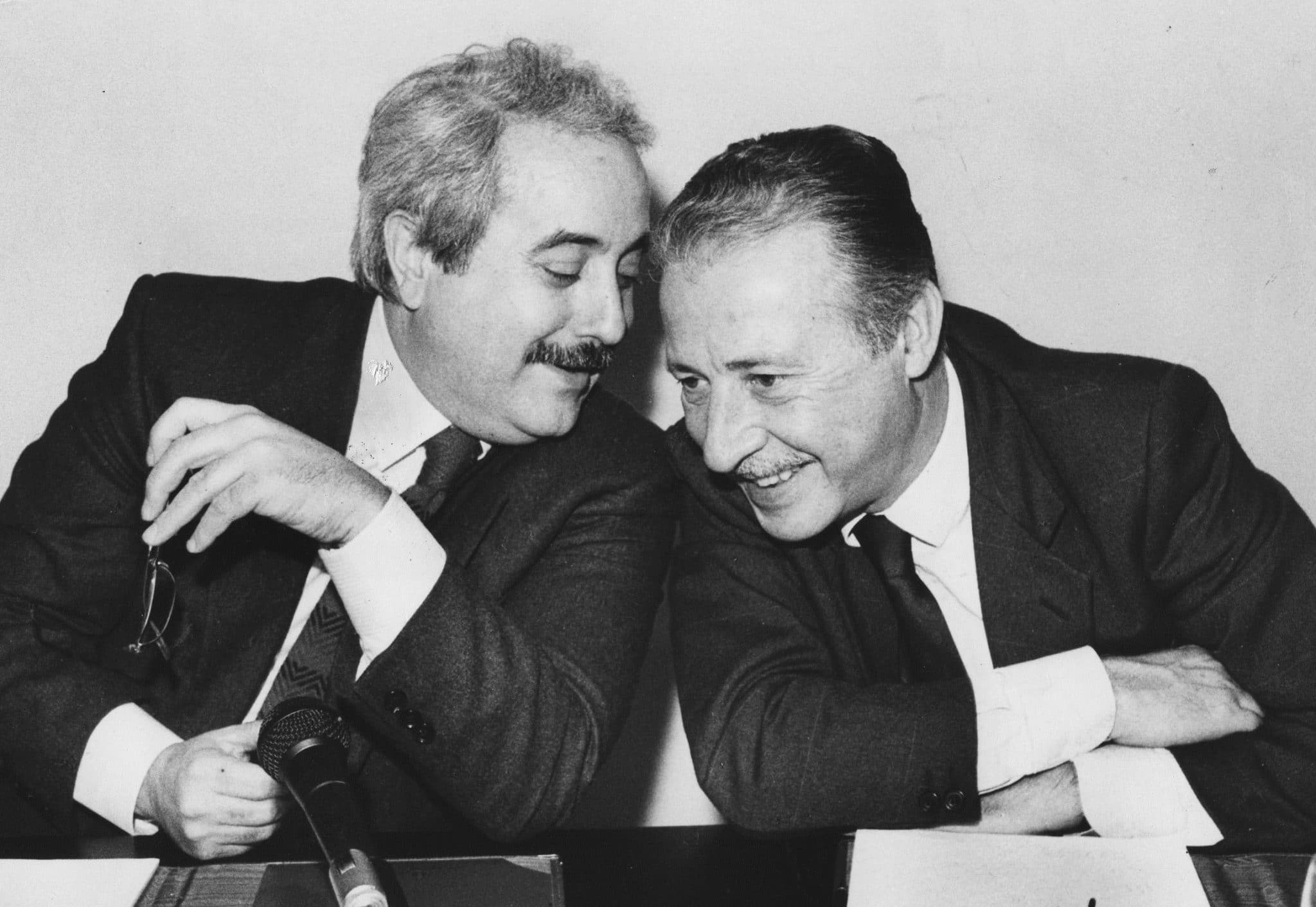 Giovanni Falcone e Paolo Borsellino anti mafia