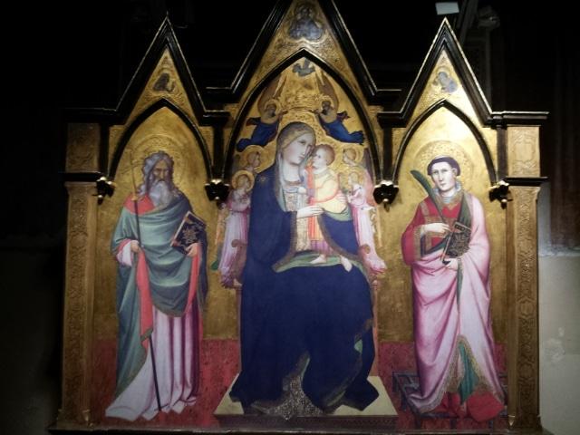 Photo of Dopo 92 anni il trittico di Gaddi torna al Santa Caterina