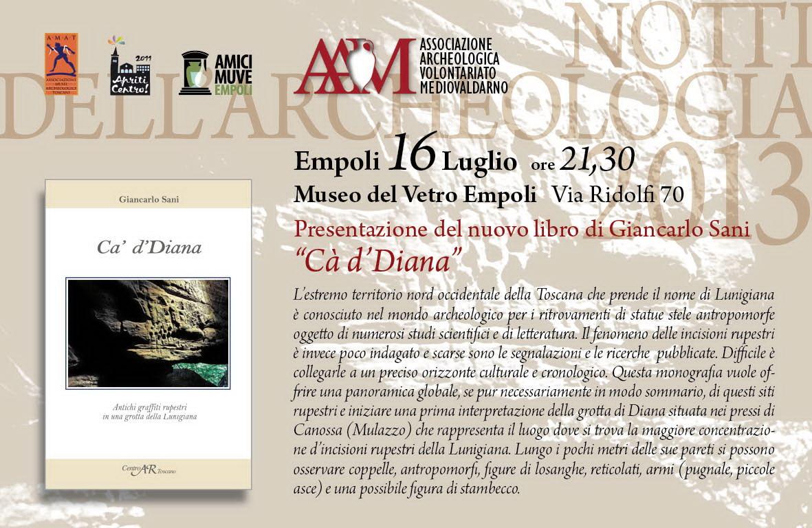 Photo of EMPOLI – Notti dell'Archeologia, fascino delle incisioni rupesrti