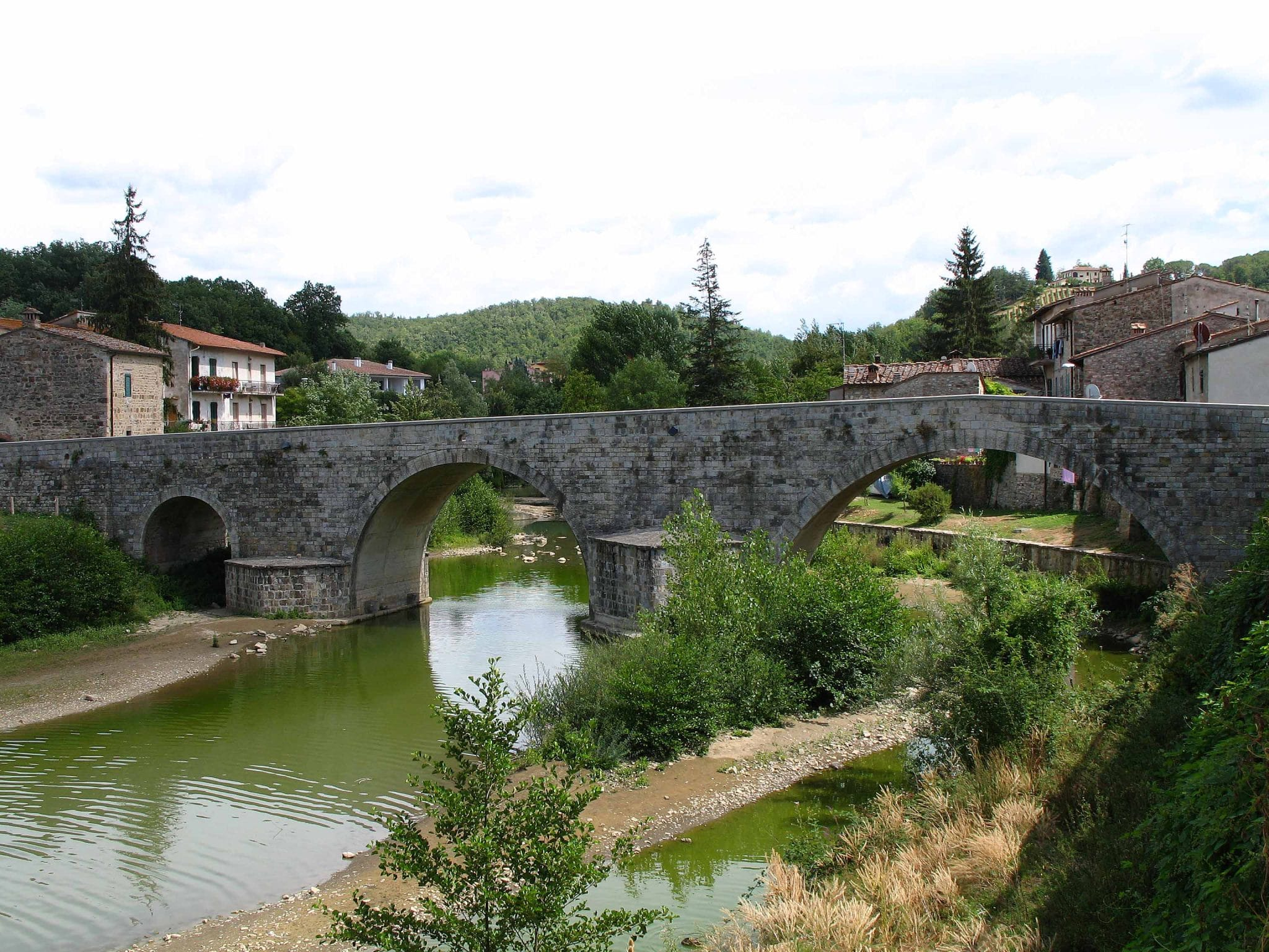 Photo of SAMBUCA VAL DI PESA – Al via lavori al ponte romanico
