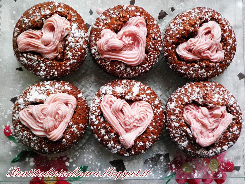 Photo of Cupcakes al cioccolato e amarena