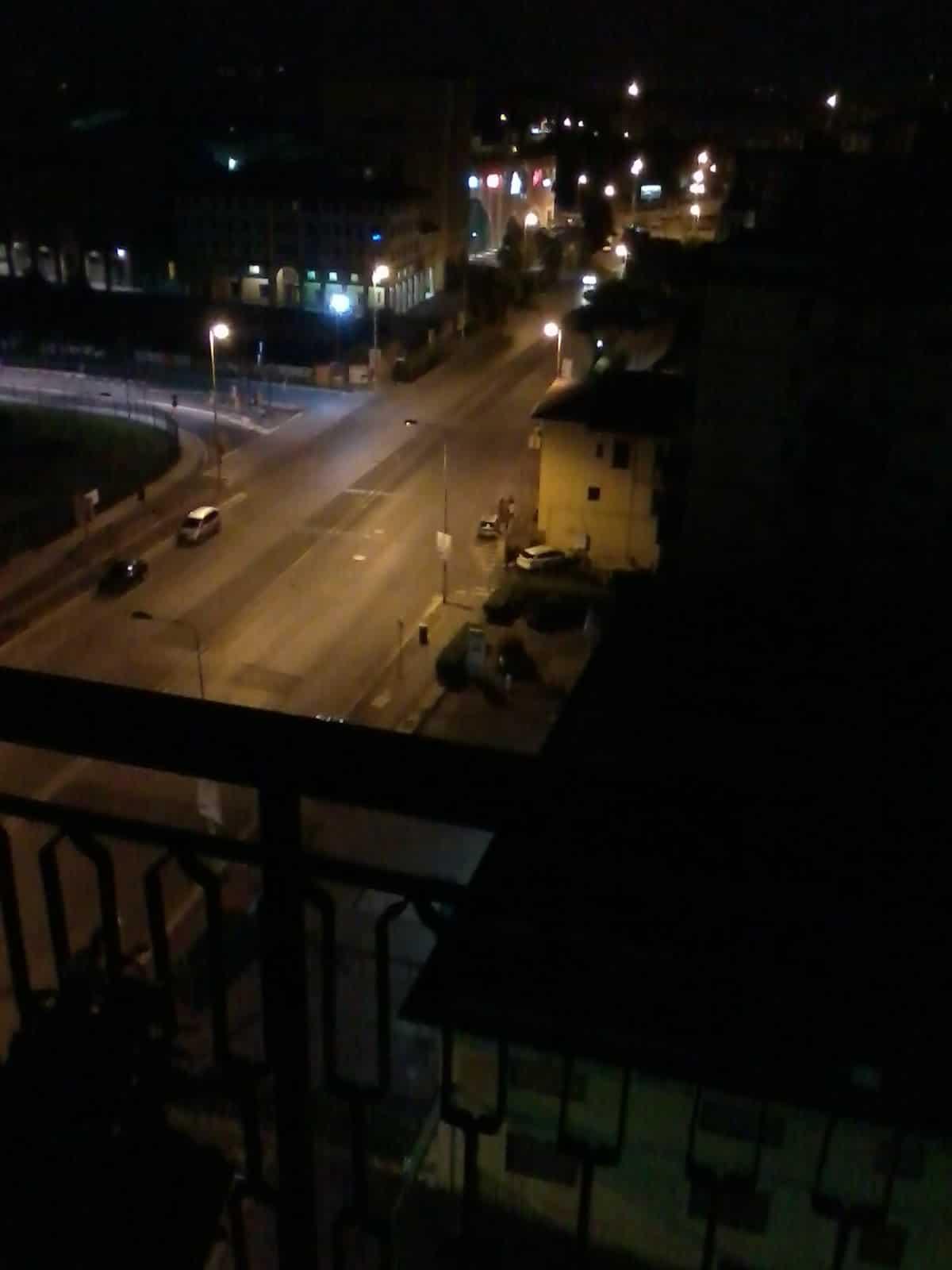 Firenze - festa abusiva a Novoli