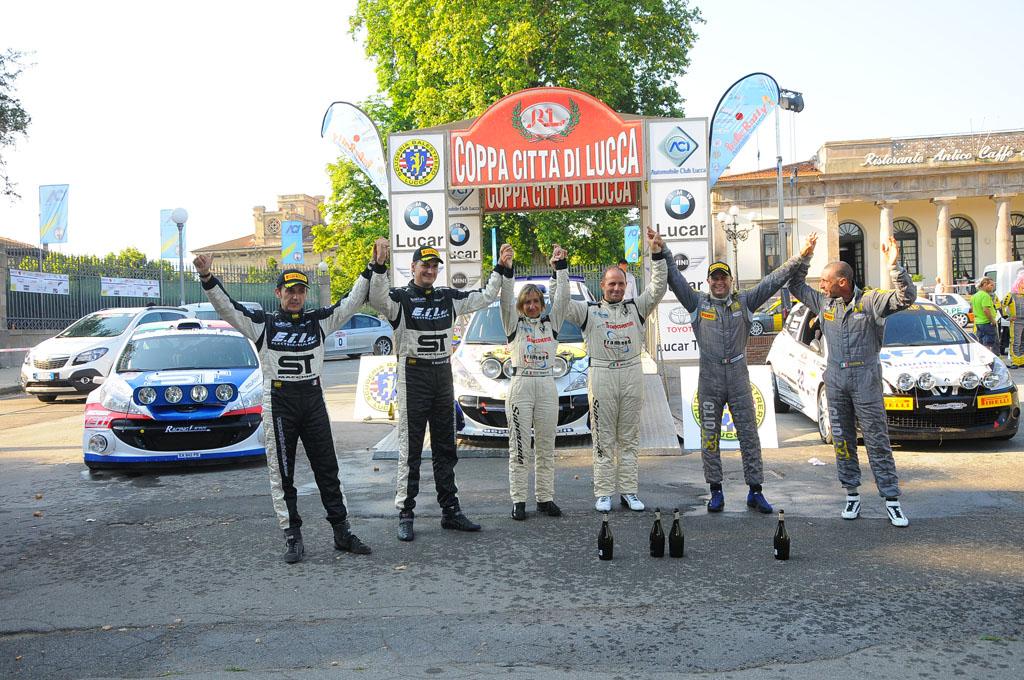Photo of RALLY – Coppa di Lucca, vincono Lucchesi-Ghilardi FOTO