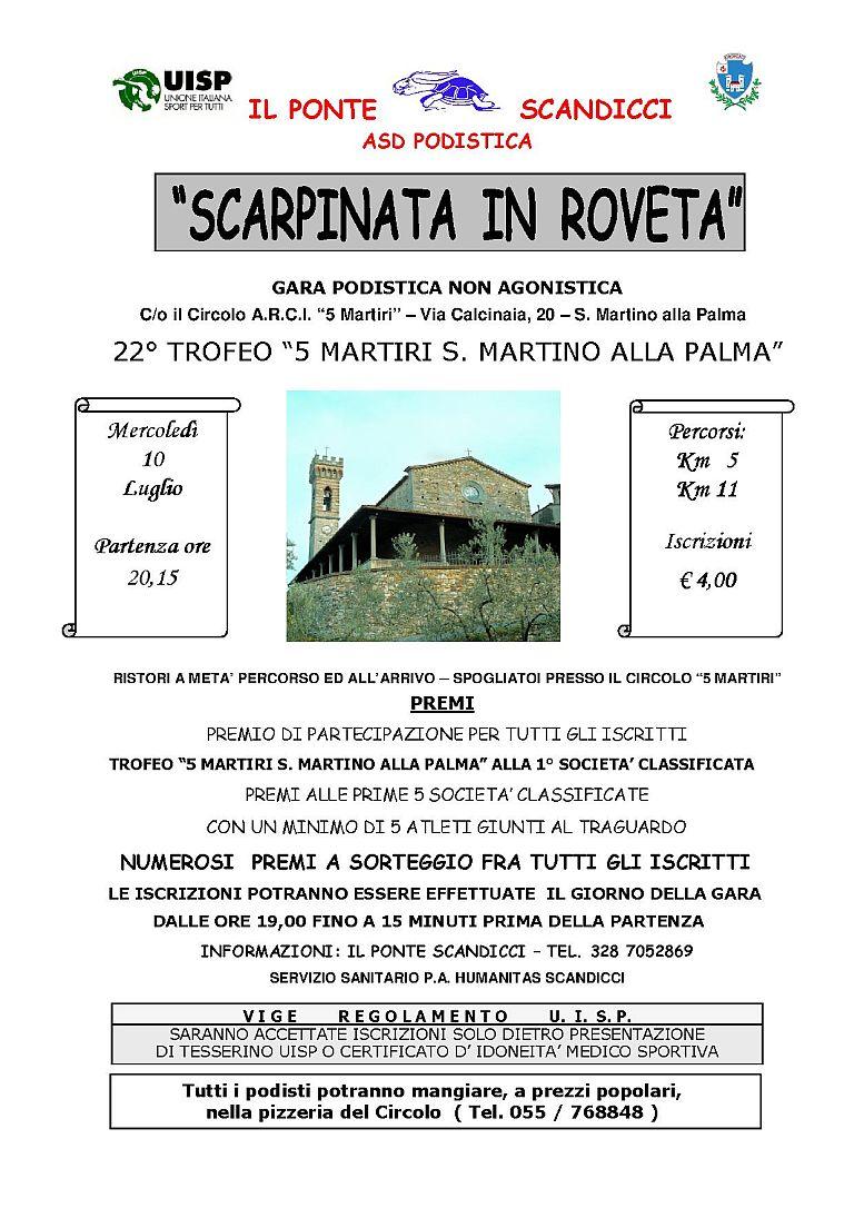Photo of SCANDICCI – Scarpinata in Roveta 22° edizione