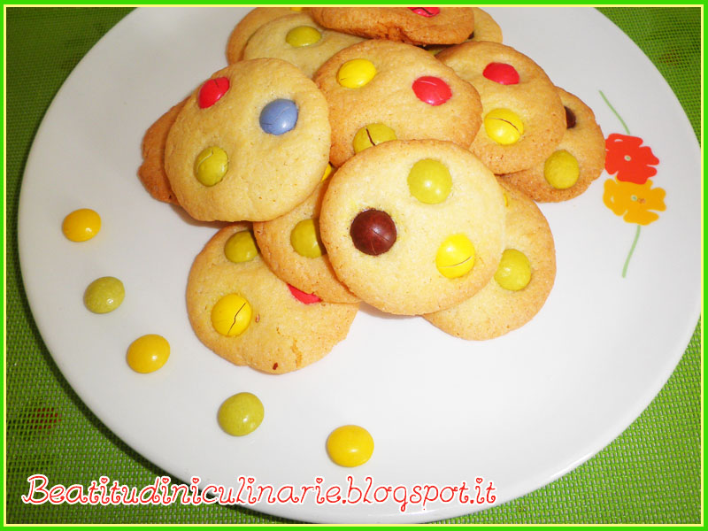 Photo of Cookies con smarties – golosità made in USA