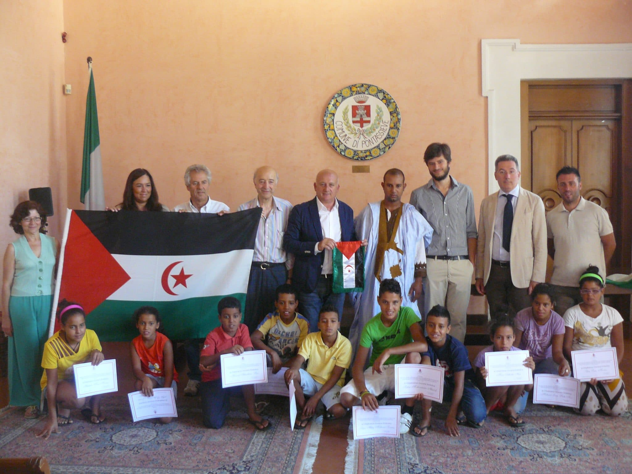 Photo of Cittadinanza ai bambini Saharawi, domenica parco fluviale in festa