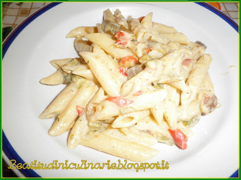 Photo of Penne con verdure e crema di formaggio