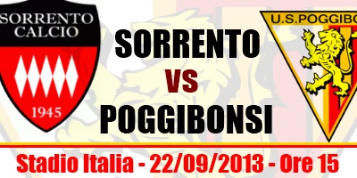 Photo of Info ticket Sorrento vs Poggibonsi