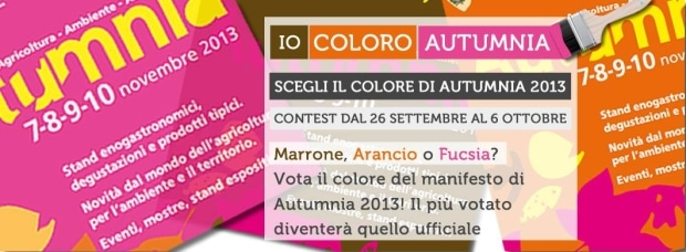 Photo of Autumnia: quest'anno il manifesto lo scegli su Facebook