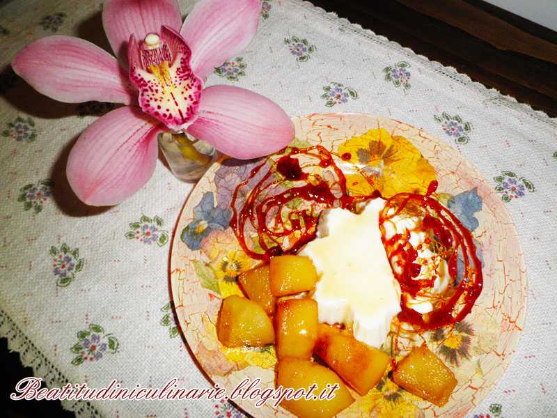 Photo of Panna cotta al caramello con pere al marsala