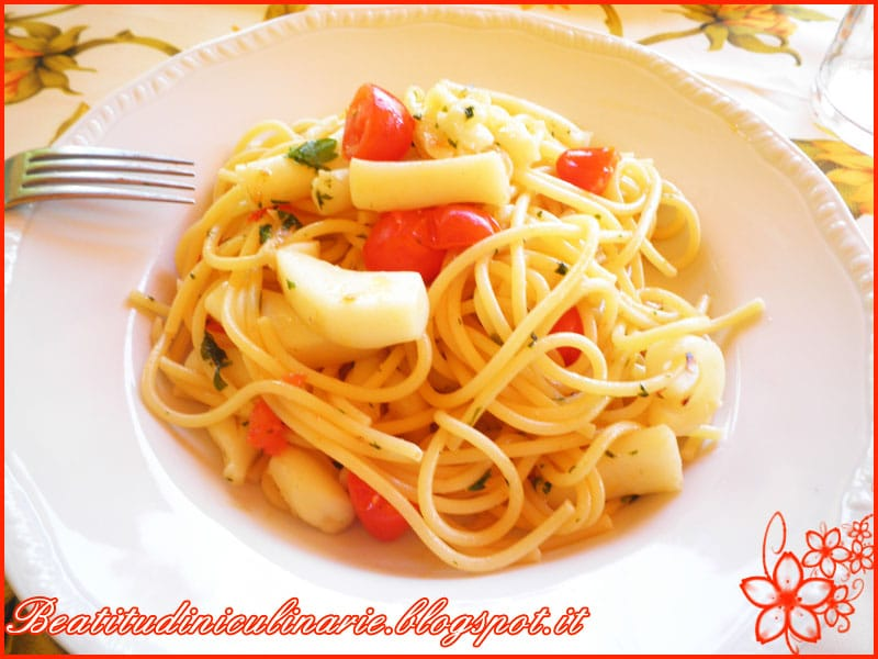 Photo of Spaghetti con seppie e pomodorini