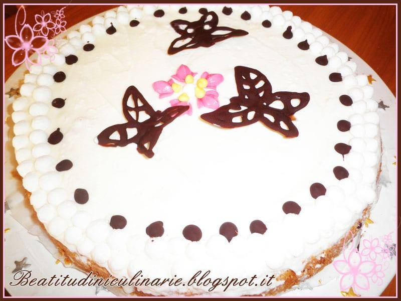 torta gelato meringa