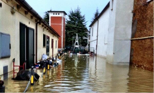 Asciano - Siena (foto Antonio Cinotti Twitter)