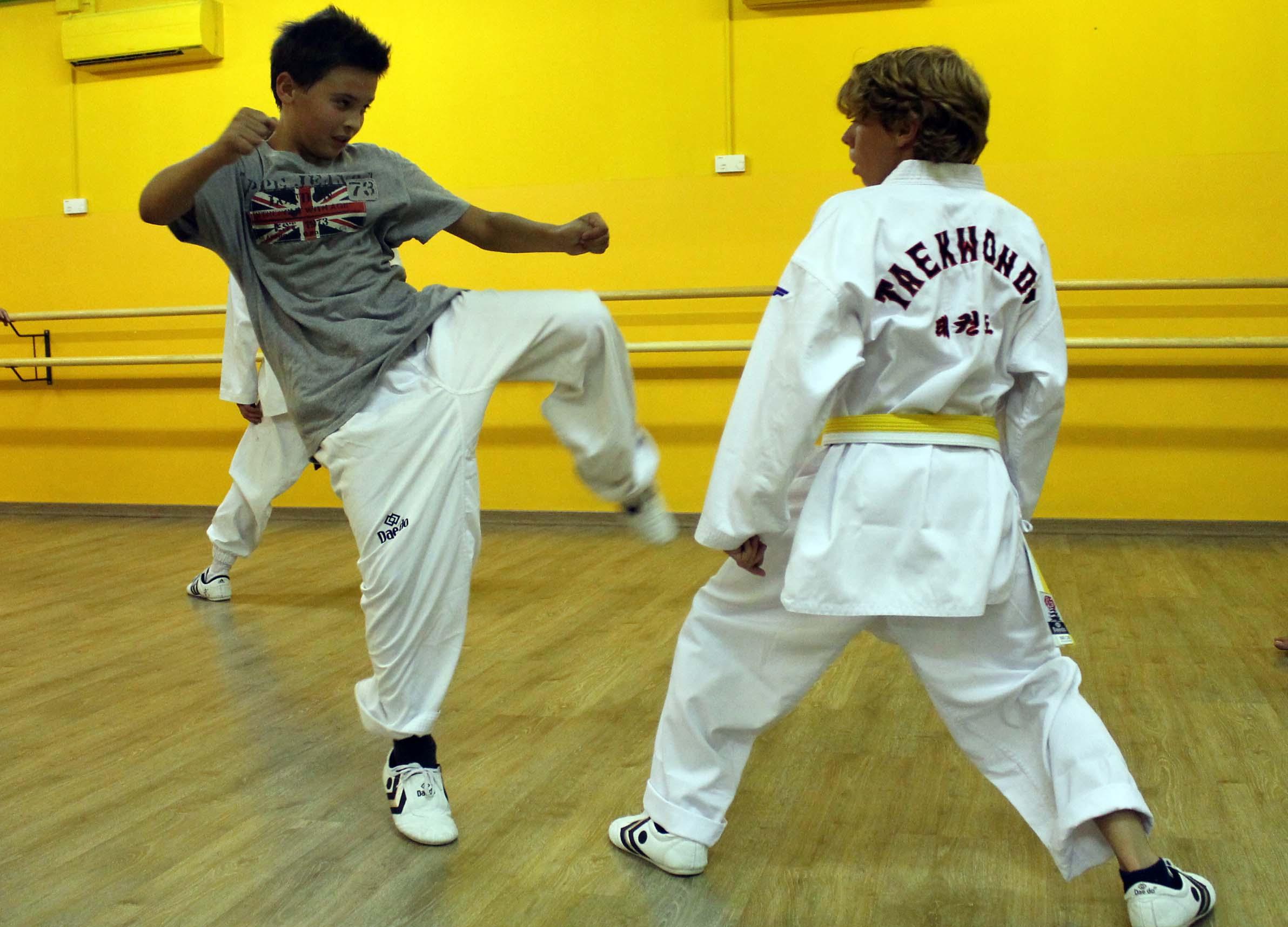 Photo of Tecniche olimpiche al Centro Taekwondo Arezzo