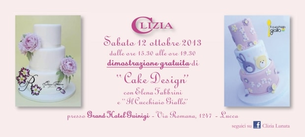 Photo of Cake design a Lucca, sabato 12 ottobre