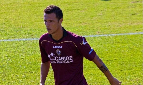 Luca Siligardi - Livorno calcio (foto prof Quatermass Amex)