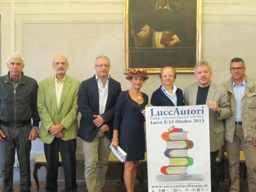 Photo of Luccautori 2013 con dedica speciale a Federico Fellini