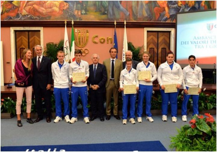 Photo of Eleonora Geri di Incisa è ambasciatrice per lo sport tra i giovani