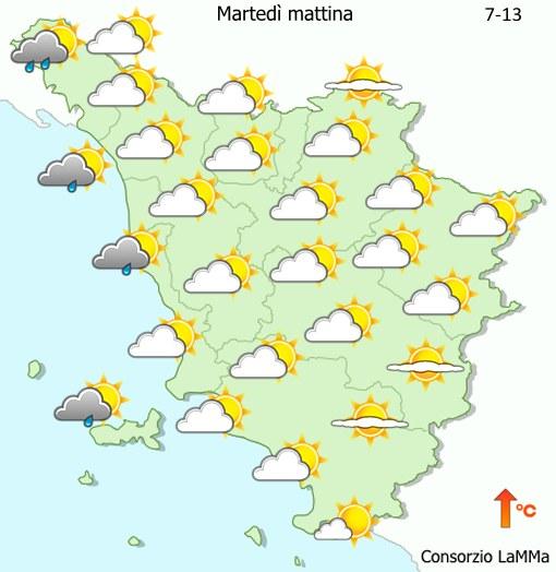 Toscana LaMMa meteo
