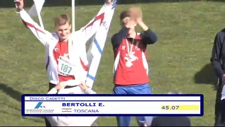 Photo of ATLETICA – Edoardo Bertolli campione italiano cadetti