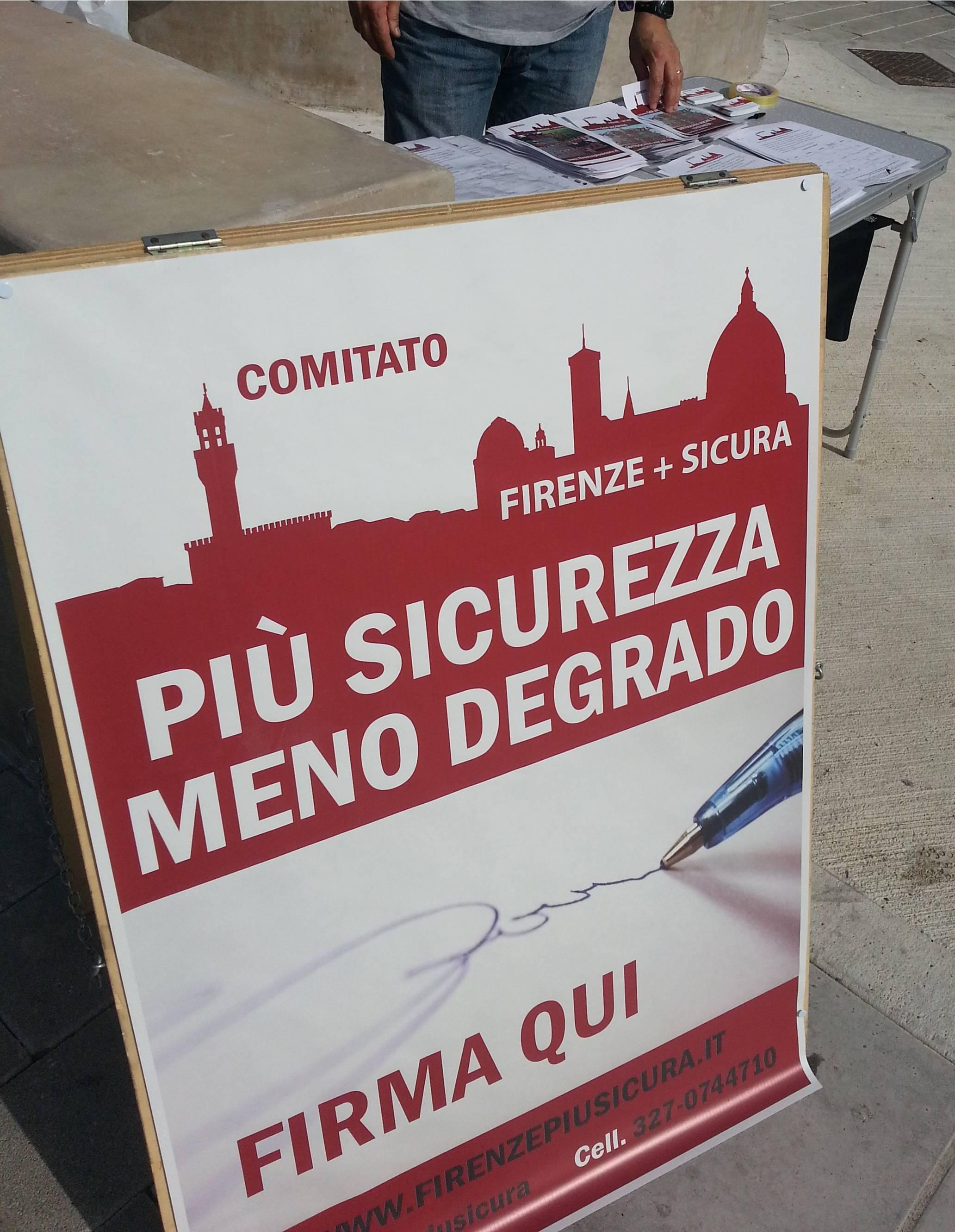 Photo of FI – San Jacopino: Firenze Più Sicura in piazza contro il degrado