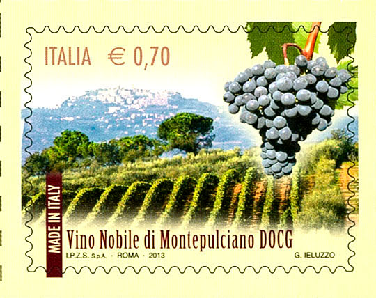francobollo Montepulciano