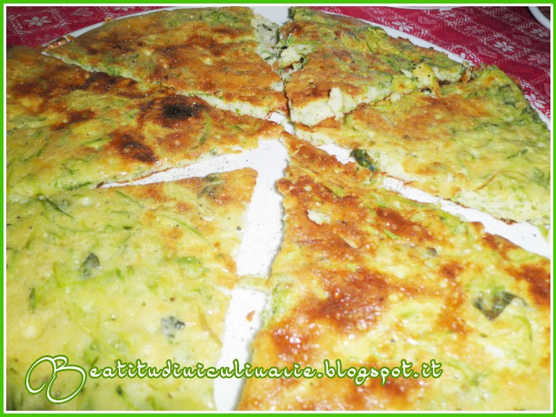 Photo of Frittata alle zucchine, pepe e pecorino