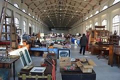 mercato antiquariato nella Cattedrale