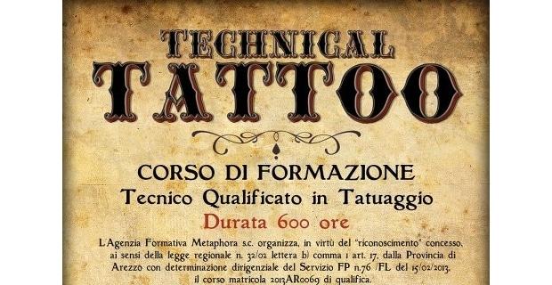 Photo of Corso di Tecnico qualificato in tatuaggio ad Arezzo