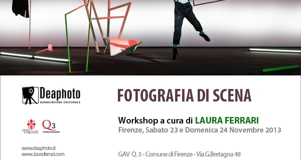 Photo of Fotografia di Scena – Workshop di Laura Ferrari